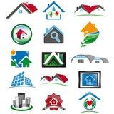 Set of various house icon Royalty Free Stock Photo