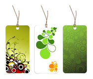 Set of various paper tags Royalty Free Stock Image