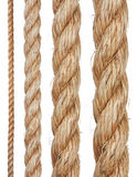 Set of various ropes Royalty Free Stock Image