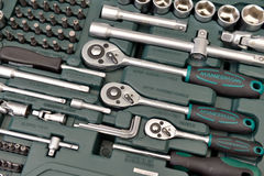 Set of various tools Stock Image