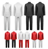 The set of various work clothes. Royalty Free Stock Photography