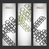 Set vector abstract style background Royalty Free Stock Photo