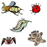 Set of vector animals Stock Photos