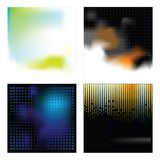Set vector backgrounds royalty free stock photo