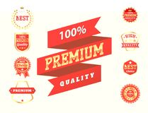 Set of vector badges shop product sale best price stickers advertising tag symbol discount promotion vector illustration. Set of vector badges shop product sale Stock Photos