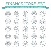 Set of Vector Banking Finance Money Icons. Payments and Income. Richness. Can be used as Logo or Icon in premium quality. High Quality Vector Illustration in EPS Royalty Free Stock Photo