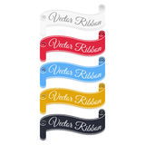 Set of vector banner ribbons. Royalty Free Stock Photo