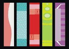 Set vector banners Royalty Free Stock Photography