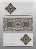 Set of vector banners design template Stock Photo