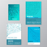 Set of Vector brochure cover design templates with Royalty Free Stock Image