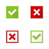 Set of vector buttons Royalty Free Stock Photo
