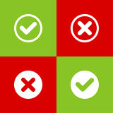 Set of vector buttons Royalty Free Stock Photos