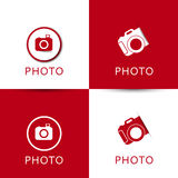 Set of vector camera icons Royalty Free Stock Photo