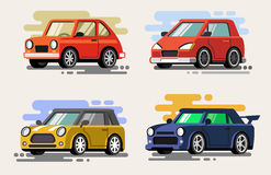 Set vector car Royalty Free Stock Images
