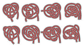 Set of vector celtic design elements Royalty Free Stock Photography