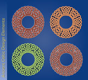 Set of vector celtic design elements Stock Photo