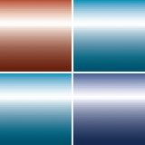Set of vector colorful Abstract triangle backgroun Royalty Free Stock Photos