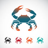 Set of vector crab icons design Stock Image