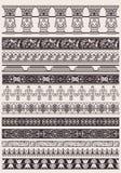 Set Of Vector Decorative Border Lines Stock Photos