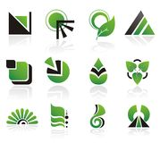 Set of vector design elements Royalty Free Stock Photography
