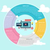 UI Element Infographic. Set of vector diagram illustration use for business, creative, process and much more.The set can be used for several purposes like vector illustration