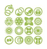 Set of vector elements Royalty Free Stock Photo