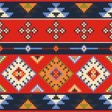 Set of vector estern europe folk seamless pattern ornaments. Eth Stock Photos