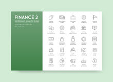 Set of Vector Finance Money Icons and Payments and Income Rich c. An be used as Logo or Icon in premium quality Royalty Free Stock Photo