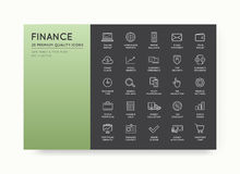 Set of Vector Finance Money Icons and Payments and Income Rich c. An be used as Logo or Icon in premium quality Royalty Free Stock Image