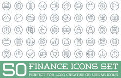 Set of Vector Finance Money Icons. And Payments and Income Rich can be used as Logo or Icon in premium quality Stock Image