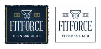 Set of Vector Fitness Aerobics Gym Elements and Fitness Icons Il Stock Images