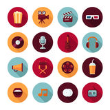 Set of vector flat design concept icons Stock Image