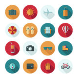 Set of vector flat design concept icons Stock Photos