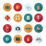 Set of vector flat design concept icons Stock Photos