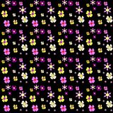 Set of Vector Flowers Stock Images