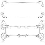 Set vector frames for design Royalty Free Stock Photo