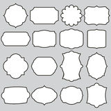 Set of vector frames. Vector illustration Royalty Free Stock Images