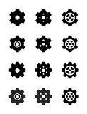 Set of vector gears Stock Photo