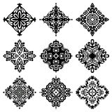 Set of vector graphic abstract ornamental designs Royalty Free Stock Photo