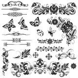 Set of vector graphic elements Royalty Free Stock Photos