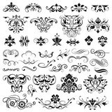 Set of vector graphic elements  Stock Photos