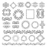 Set of vector graphic elements for design Stock Photo
