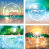 Set of vector graphic message Royalty Free Stock Images
