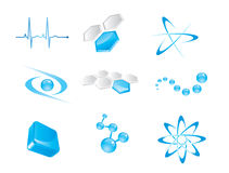 Set of vector icon elements Royalty Free Stock Images