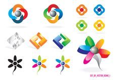 Set of Vector Icons 1 Stock Photo