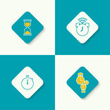 Set of vector icons Royalty Free Stock Photos