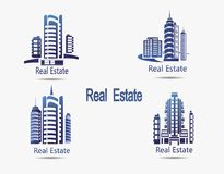 Set of vector icons Real Estate. Royalty Free Stock Photography