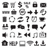 A set of vector icons. Stock Photos