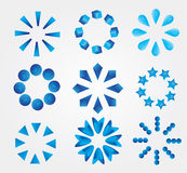 Set of vector icons Royalty Free Stock Images