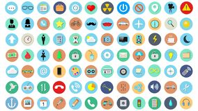 Set of vector illustration icons vector illustration